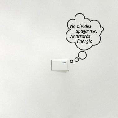 vinilos imagen producto Ahorro de Energía