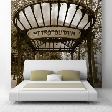 Fotomural Boca Metro adhesivo decorativo ambiente