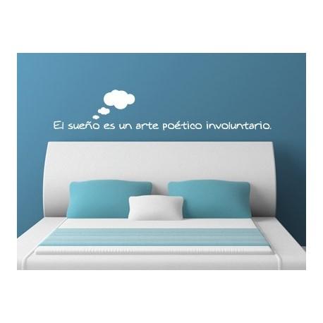 El sueño es... imagen vinilo decorativo