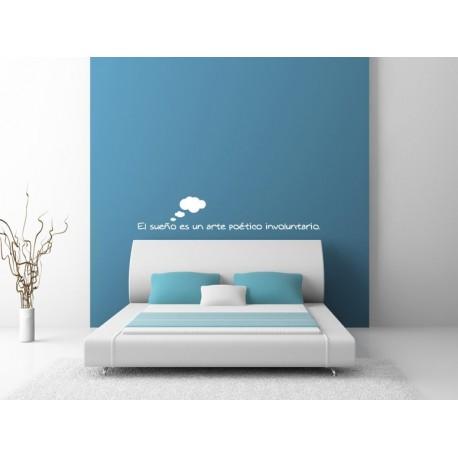 El sueño es... adhesivo decorativo ambiente
