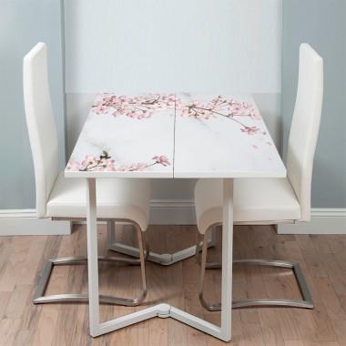 Vinilo muebles acabado mármol