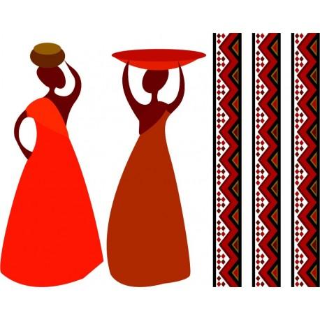 Zambia Pared Composición imagen vinilo decorativo