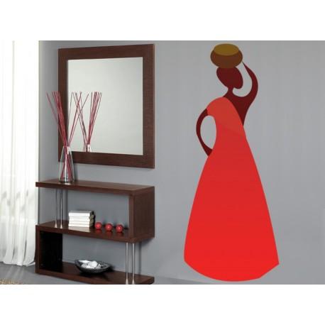 Zambia Mujer I adhesivo decorativo ambiente