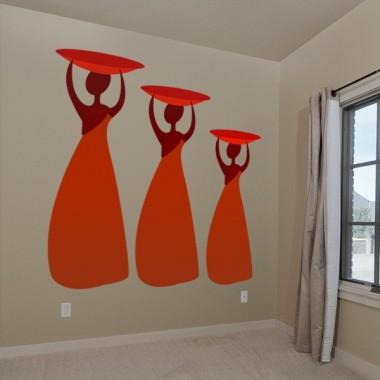vinilo decorativo Zambia Mujer II
