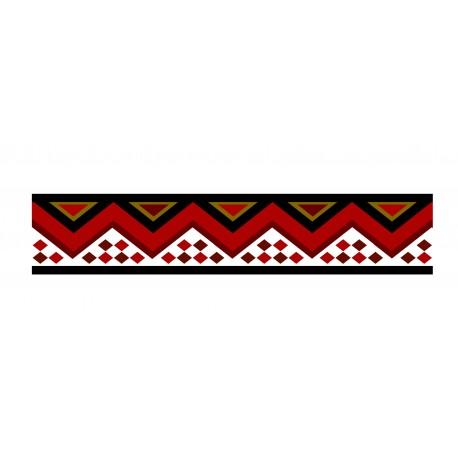 pegatina pared Zambia Cenefa