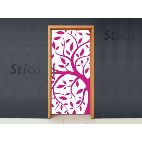Vinilo Arbol para puerta -vinilos-decorativos
