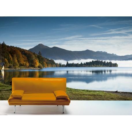 pegatina decorativa Fotomural Lago Ázul