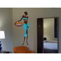 adhesivo decorativo Madagascar Mujer II
