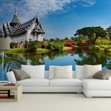 Fotomural Paisaje Oriental adhesivo decorativo ambiente