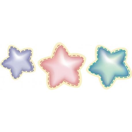 pegatina pared Estrellas Felices Sueños