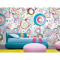 Fotomural Circular Color