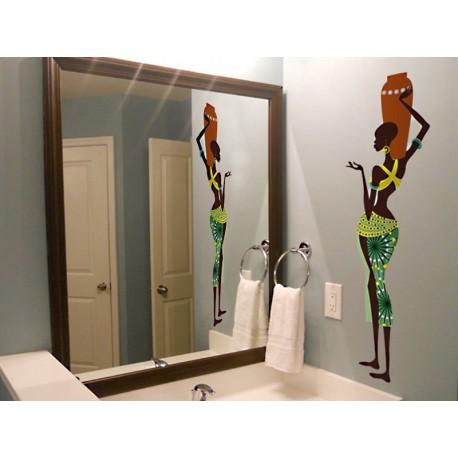 vinilo decorativo Madagascar Mujer I