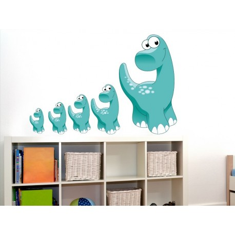 pegatina decorativa Dino
