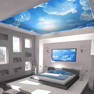 Fotomural Cielo Azul decoración con vinilo