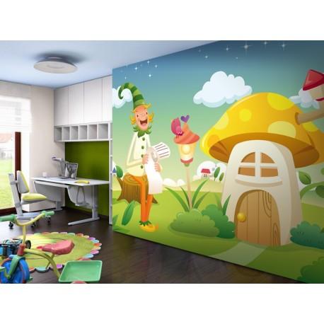 vinilos imagen producto Fotomural Casa Alfy