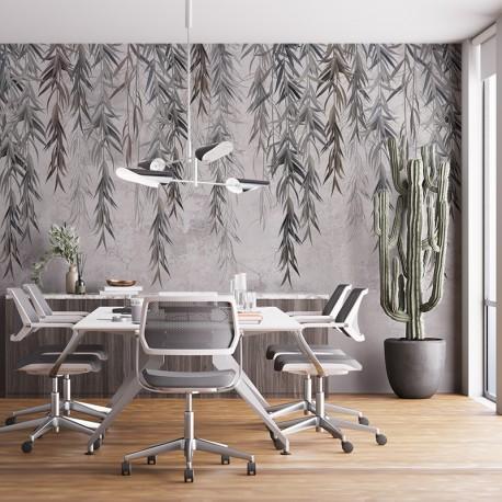 Fotomural papel pintado naturaleza ramas sauce