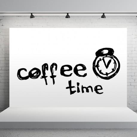 vinilo tiempo de café