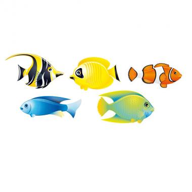Vinilo peces de mar