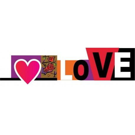 Love Pared producto vinilos