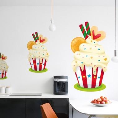 vinilos imagen producto Muffin Pegatina II