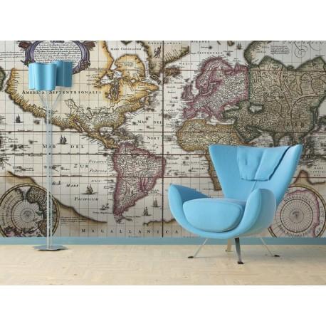 Fotomural mapa mundi ii - Mural mapa mundi ...