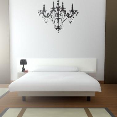Lámpara Araña Luis XV adhesivo decorativo ambiente