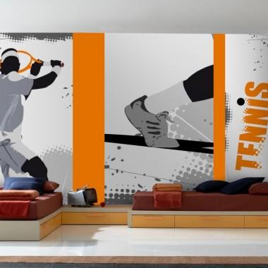 Fotomural Deportes Tenis imagen vinilo decorativo