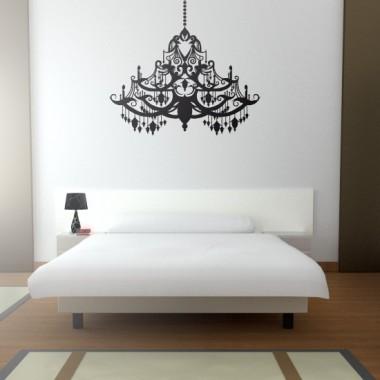 Lámpara de Araña Barroco imagen vinilo decorativo