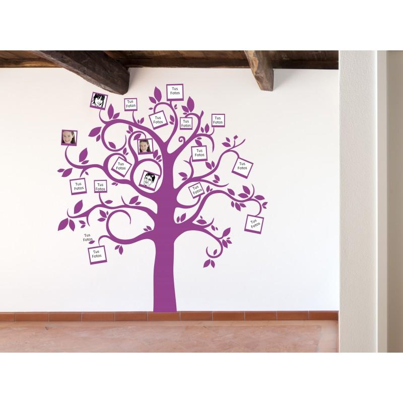 Vinilo arbol mis fotos - Vinilos de arboles para paredes ...