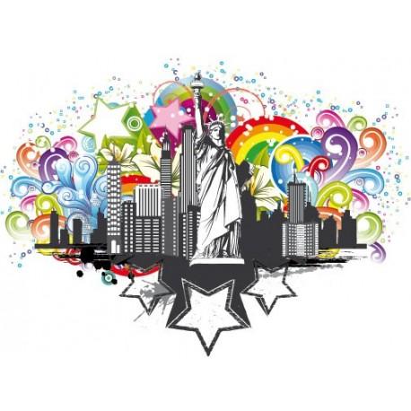 I Love NY para Armario imagen vinilo decorativo