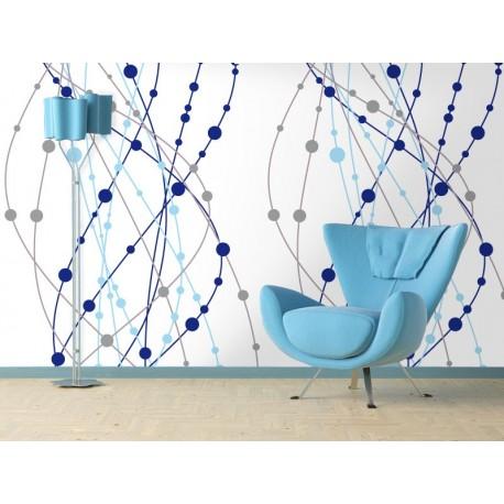 Fotomural Nodos adhesivo decorativo ambiente