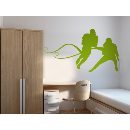 Rugby imagen vinilo decorativo