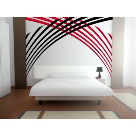 adhesivo decorativo ArtDeco para Cabecero
