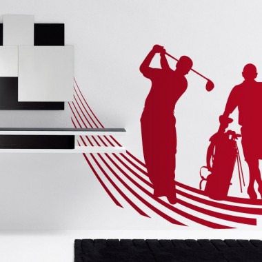 Golf adhesivo decorativo ambiente