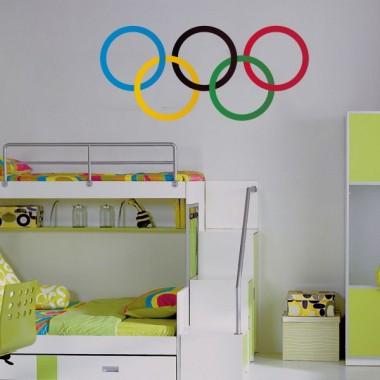 vinilos imagen producto Aros Olímpicos