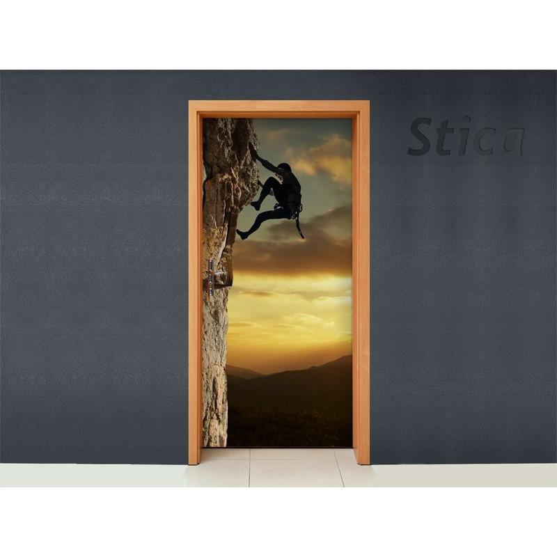 Vinilo escalada para puerta - Puertas de vinilo ...