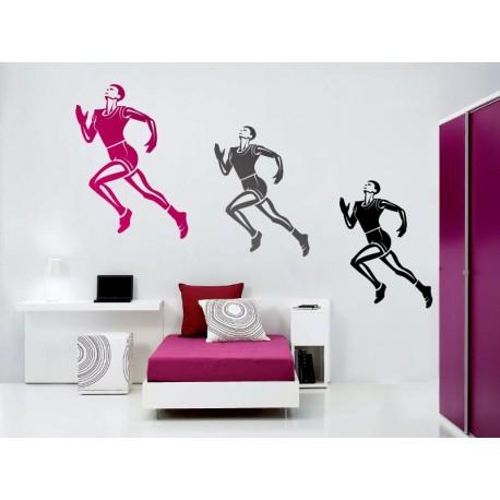 adhesivo decorativo Atletismo