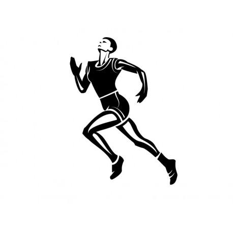 pegatina pared Atletismo