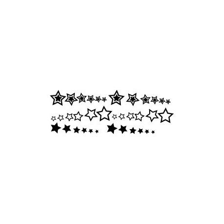 Estrellas I Decoración Vehículo decoración con vinilo