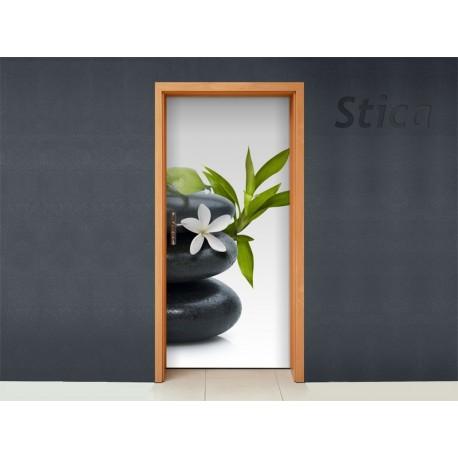 Vinilo piedras zen para puerta for Disenos navidenos para decorar puertas