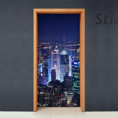 vinilo decorativo Rascacielos II para Puerta