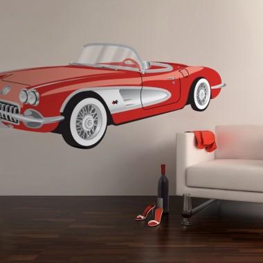 pegatina decorativa Coche Cadillac