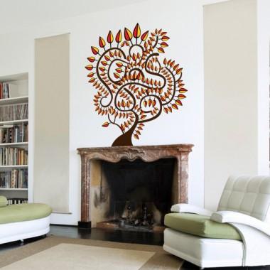 adhesivo decorativo Arbol Etnico