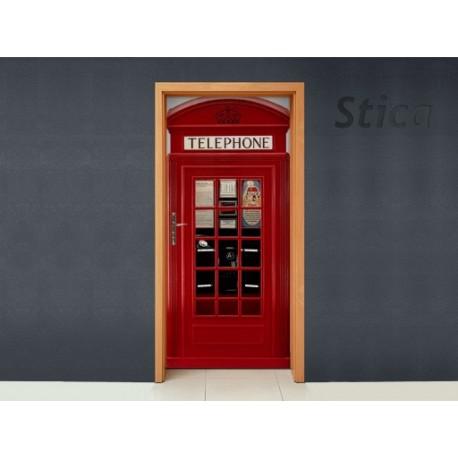 Vinilo Cabina inglesa puerta-vinilos-decorativos