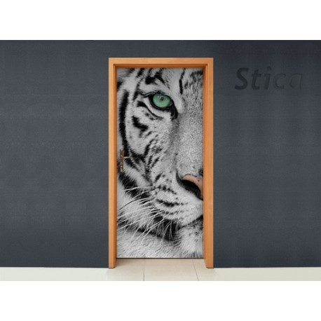 vinilos imagen producto Puerta Tigre