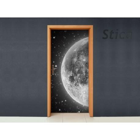 Vinilo Luna para puerta -vinilos-decorativos
