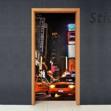 Vinilo New york para puerta -vinilos-decorativos