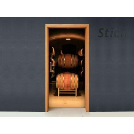 Vinilo Bodega puerta -vinilos-decorativos