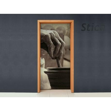 Vinilo Cascada puerta -vinilos-decorativos