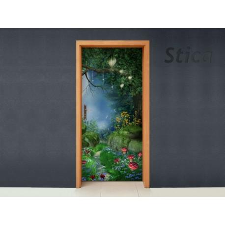 Vinilo Mil maravillas puerta -vinilos-decorativos
